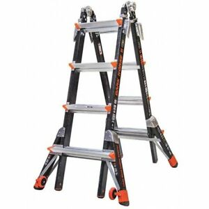 Multipurpose Ladder 17 Ft ia fiberglass Little Giant 15147 001
