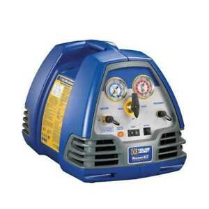 Refrigerant Recovery Machine 1 2 Hp 115v Yellow Jacket 95760
