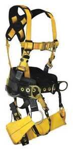 Yellow Tower Climb Full Body Harness 6d G7042m Falltech