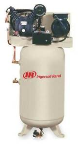 Ingersoll rand 2475n5fp 200 3 Electric Air Compressor 2 Stage 16 8 Cfm