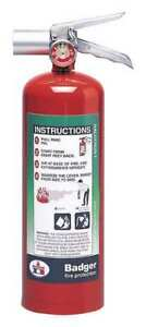 Fire Extinguisher 5b c Halotron 5 Lb Badger 5hb 2