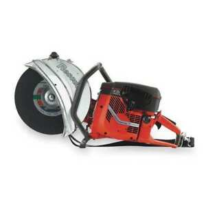 14 Fire Rescue Saw 5 Cut Depth Wet dry 6 5hp 2 cycle Husqvarna K970 14