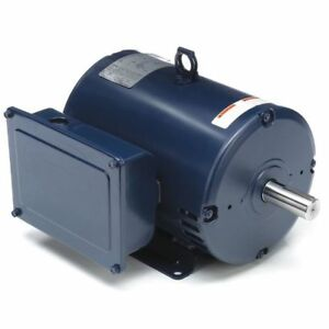 Air Compressor Motor 5 Hp 23 0 21 0a Marathon Motors 184tbdw7026