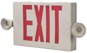 Cooper Lighting Apc7g Cooper Lighting Thermoplastic Led Exit Sign emergency