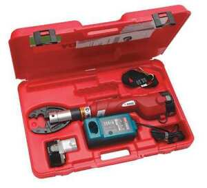 Battery Operated Crimping Tool Burndy Patmd6li