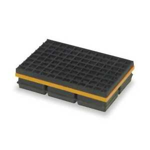 Vibration Isolation Pad 10x12x1 1 4 In Mason 2lvp6