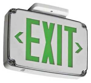 Acuity Lithonia Thermoplastic Led Exit Sign Battery Backup