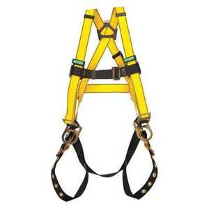Full Body Harness Universal Yellow Msa 10072487