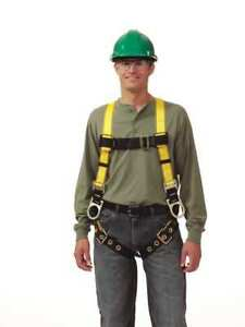 Full Body Harness Universal Yellow Msa 10072491