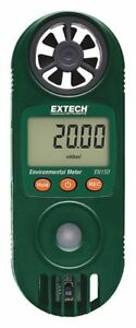 Anemometer With Humidity 80 To 3937 Fpm Extech En150