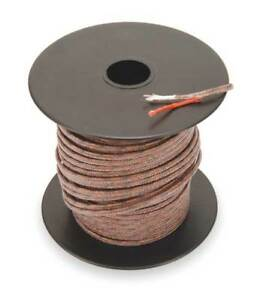 Thermocouple Lead Wire j 20awg str 100ft Tempco Tcwr 1011