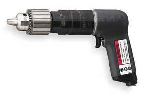 Ingersoll Rand 7anst8 Air Drill industrial pistol 1 2 In