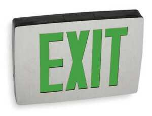 Quantum Series Cast Aluminum Led Exit Sign Lithonia Lighting Lqc 1 G