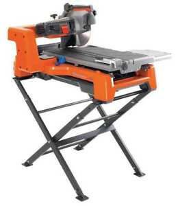 Masonry Saw wet Cut elctrc 10 In Blade Husqvarna Ts60