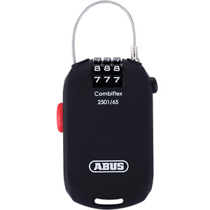 Abus Cycling Bike Bicycle Ultralight Password Lock Portable Code Lock Black