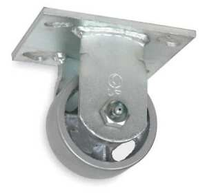 1nwl7 Rigid Plate Caster 8 In Dia