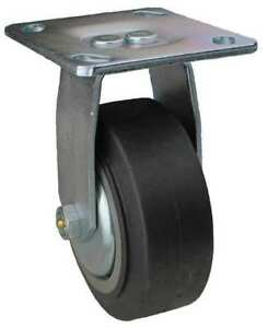 Albion 08is04201r001g Rigid Plate Caster 300 Lb 4 In Dia