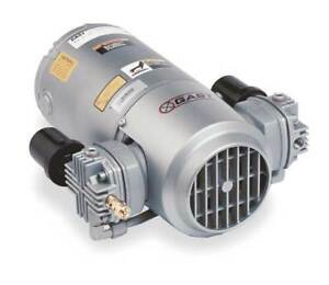 Gast 5lca 251 m550ngx Piston Air Compressor vacuum Pump 3 4hp