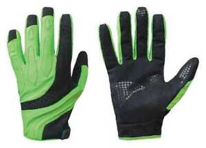 Mechanics Gloves s hi vis Blk green pr Turtleskin Cpm 33a