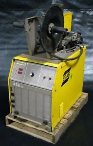Esab 3 Phase Mig Welder 230 460 Volt With Digimig Dual Wire Feeder 452 Cv
