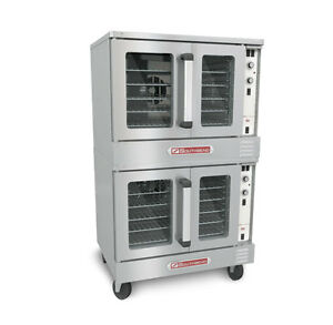 Southbend Bes 27sc Double deck Electric Convection Oven Standard Depth 7 5 Kw
