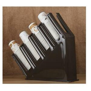 Coffee Professional Holder Racks Organizer For Lids And Paper Coffee Cups