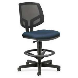 Hon Volt Seating Mesh Adjustable Task Stools Navy or Navy Blue Hon5715ga90t