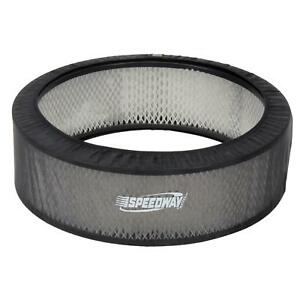Black Air Filter Cover 14 X 3 Inch