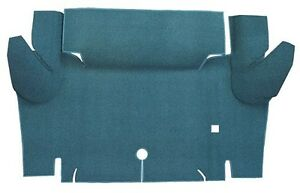 1965 1966 Ford Mustang Coupe Trunk Kit Floor Only Nylon Carpet Trunk Mat 1pc