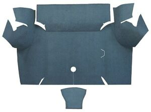 1967 1968 Ford Mustang Coupe Trunk Kit Floor Only Loop Carpet Trunk Mat