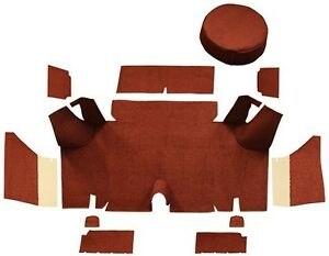 1965 1966 Ford Mustang Fastback Trunk Kit With Boards Loop Carpet Trunk Mat 11pc