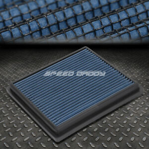For 12 17 Rx350 camry avalon Blue Reusable washable High Flow Panel Air Filter