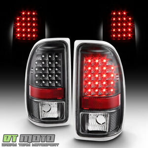 Black 1997 2004 Dodge Dakota Led Tail Lights Brake Lamps Replacement Left right
