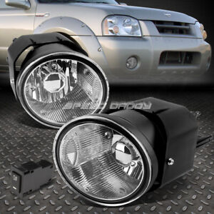 For 01 04 Frontier Sentra Clear Lens Oe Driving Pair Fog Light Lamp Switch