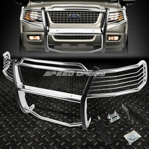 For 03 06 Ford Expedition U222 Chrome Stainless Steel Front Bumper Grill Guard