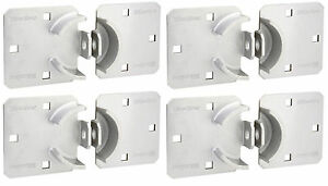 Hasp By Master 770 lot Of 4 Heavy Duty Fits 6271 Round Hidden Shackle Locks