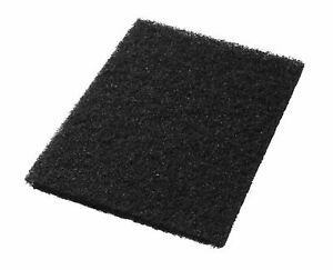 Clarke Boost 997000 Black Floor Pads 14x28 Box Of 5 Aftermarket