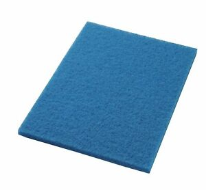 Clarke 997021 Focus Boost 14 X 20 Blue Cleaner Floor Pads Box Of 5 Aftermarket