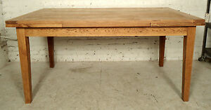 Mid Century Modern Extendable Dining Table 05696 Ns