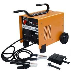 New 250 Amp Welder 110 220v Ac Arc Welding Machine Weld W Free Mask Accessories