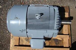 Nidec Electric Motor 30kw 40 Hp 440v 3 Phase 6315zzc3