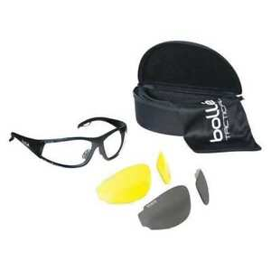 Bolle Safety 40136 Rogue Safety Glasses Interchangeable Anti fog