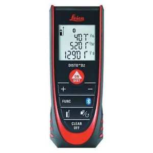 Leica Disto D2 Laser Distance Meter up To 330 Ft Range