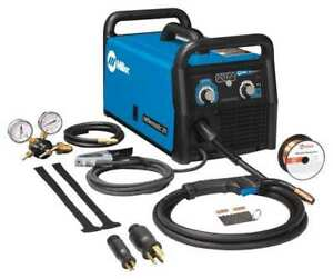 Portable Mig Welder Millermatic 211 Series 120 240vac Miller Electric 907614