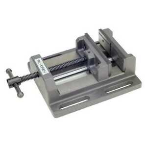 Drill Press Vise low Profile 6in Jaw W Palmgren 9612601