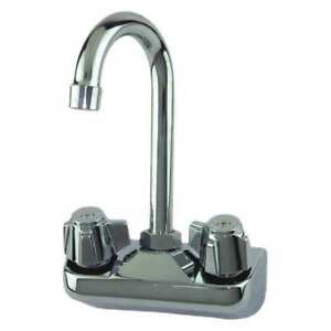 Sink Faucet 1 2in Ips lever 2 Holes Dominion Commercial Faucets 77 9116
