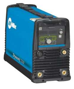 Tig Welder Dynasty 210 Series 120 To 480vac Miller Electric 907685