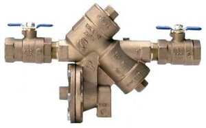 Reduced Pressure Zone Backflow Preventer Zurn Wilkins 1 975xl