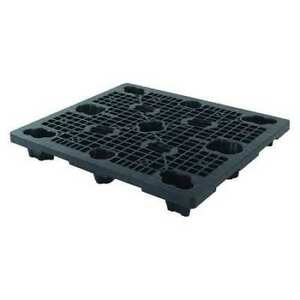 Orbis 40x48 Xp Econ Cisc Blk Pallet plastic black nestable 5 3 4 In h G2269027