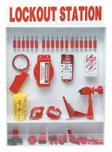Brady 99693 Lockout Station 93 Components